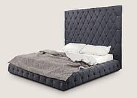 Кровать двуспальная Грегори с подъемным механизмом 1800х2000 мм (2200х2300х1850 мм)