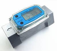 Электронный счетчик расходомер топлива 1 дюйм