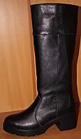 Высокие женские сапоги зимние из натуральной кожи, зимние сапоги женские от производителя