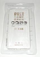 Чехол бампер силиконовый Xiaomi Redmi 3S pro прозрачный  УЛЬТРАТОНКИЙ