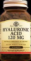 Гиалуроновая кислота 120 мг табл. №30, Солгар / Solgar