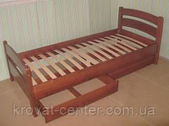 """Кровать с защитным бортиком """"Марта"""". Массив - ольха. , фото 3"""