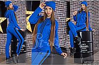 Спортивный костюм женский+ шапка, норма р.42-46
