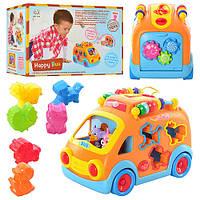 Развивающая игрушка Huile Toys Веселый автобус 988