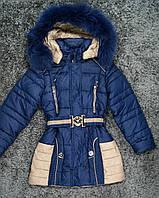 Зимнее стильное пальто для девочки!, фото 1