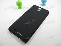 Пластиковый чехол Xiaomi Redmi Note 2 (черный)