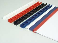 Пластины Press-binder 10мм бел, уп/50.