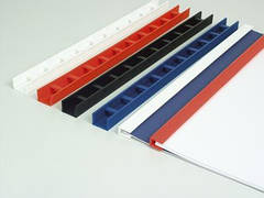 Пластины Press-binder 10мм черн, уп/50.