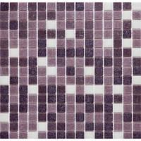 Сиреневая мозаика для стен Vivacer GLmix6