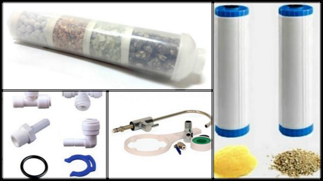 Другие сменные элементы и расходные материалы фильтров для очистки воды