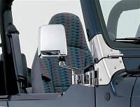 Петли лобового стекла полированные SMITTYBILT - Jeep Wrangler YJ
