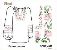 Заготовка под вышивание Детская блузка