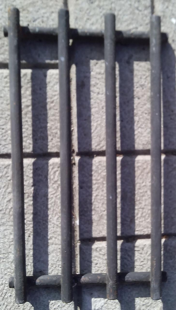 Стальная решетка для мангала шириной 300 мм