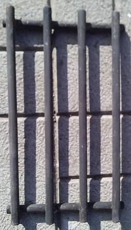 Стальная решетка для мангала 600х300х135 мм