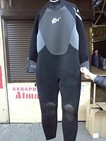 Гидрокостюм для дайвинга и подводной охоты 7мм, мокрый РАСПРОДАЖА. Подарок!