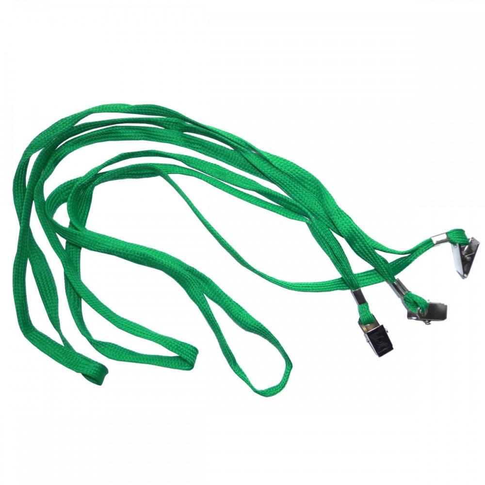 Шнурок для беджей D002 зел, уп/50. - Перша подарункова майстерня Compliment в Днепре