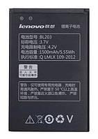 Аккумулятор BL203  для для мобильного телефона Lenovo A369, (Li-ion 3.7V1500mAh)
