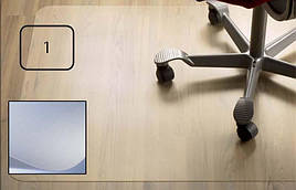 Защитный коврик PC, для гладкой поверхности, 2,0мм,  91 x 121 см *