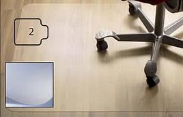 Защитный коврик PC, для гладкой поверхности, 2,0мм,  92 x 121 см *