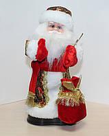 Музыкальный Дед Мороз. Высота 27 см
