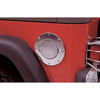 Крышка топливного бака алюминиевая Smittybilt - Jeep Wrangler TJ