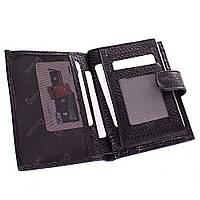 Мужское кожаное портмоне (кошелек) с органайзером для документов DESISAN (ДЕСИСАН) SHI072-2FL