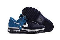 Кроссовки мужские Nike air max 2017  сине-голубые