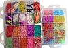 Набор резинок для плетения, Rainbow Loom bands 10000шт., фото 3