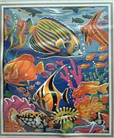 """Картина по номерам """"Подводный мир"""", 40х50см. (MG007, КН007)"""