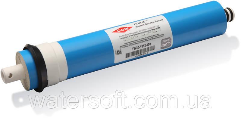 Мембрана Filmtec TW30-1812-100 100 gpd для обратного осмоса ORIGINAL