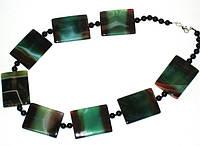 Ожерелье из агата