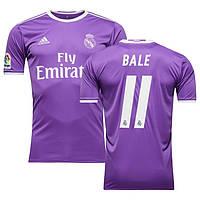 Футбольная форма Реал Мадрид Бэйл (Real Madrid Bale) 2016-2017 Выездная, фото 1