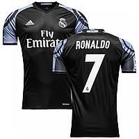 Футбольная форма Реал Мадрид Роналдо (Real Madrid Ronaldo) 2016-2017 Выездная (черная)