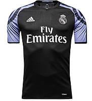Футбольная форма Реал Мадрид (Real Madrid) 2016-2017 Выездная (черная)