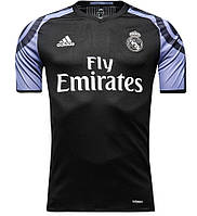 Футбольная форма Реал Мадрид (Real Madrid) 2016-2017 Выездная (черная), фото 1