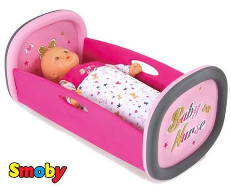 Колиска для пупса Baby Nurse Gold Edition Smoby 220313, фото 2