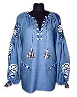 "Жіноча вишита блузка ""Кармель"" (Женская вышитая блузка ""Кармель"") BK-0034"