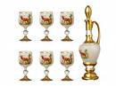 Столовое стекло, питьевое стекло (стаканы, фужеры, стопки, рюмки, шоты, бокалы, кувшины, графины)