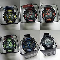 Часы K-Sport 898электронные + кварцевые в железной подарочной коробке.