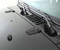 Петли капота черный мат - Jeep Wrangler JK