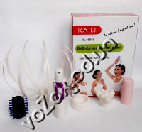 Ручной массажер для головы, лица, тела с насадками KAILI KL- 5886, фото 1