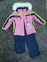 Теплый зимний комбинезон для девочки KIKO, фото 1