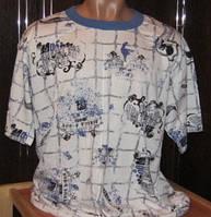 Мужская футболка из хлопка 52-54