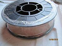 Проволока сварочная 0,8 5кг СВ08Г2С медная сварная проволка