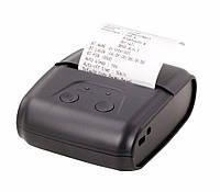 Портативный Термо Принтер чеков 57мм + ЧЕХОЛ (BLUETOOTH+USB+COM)