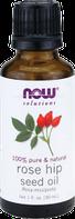 Масло шиповника (масло Розы Москеты), 30 мл, Now Foods