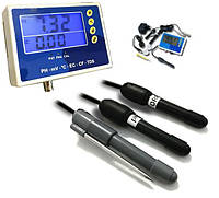 Мультимонитор рН, ОВП, солесодержания (TDS), электропроводности (EC), температуры, Kelilong PHТ-028