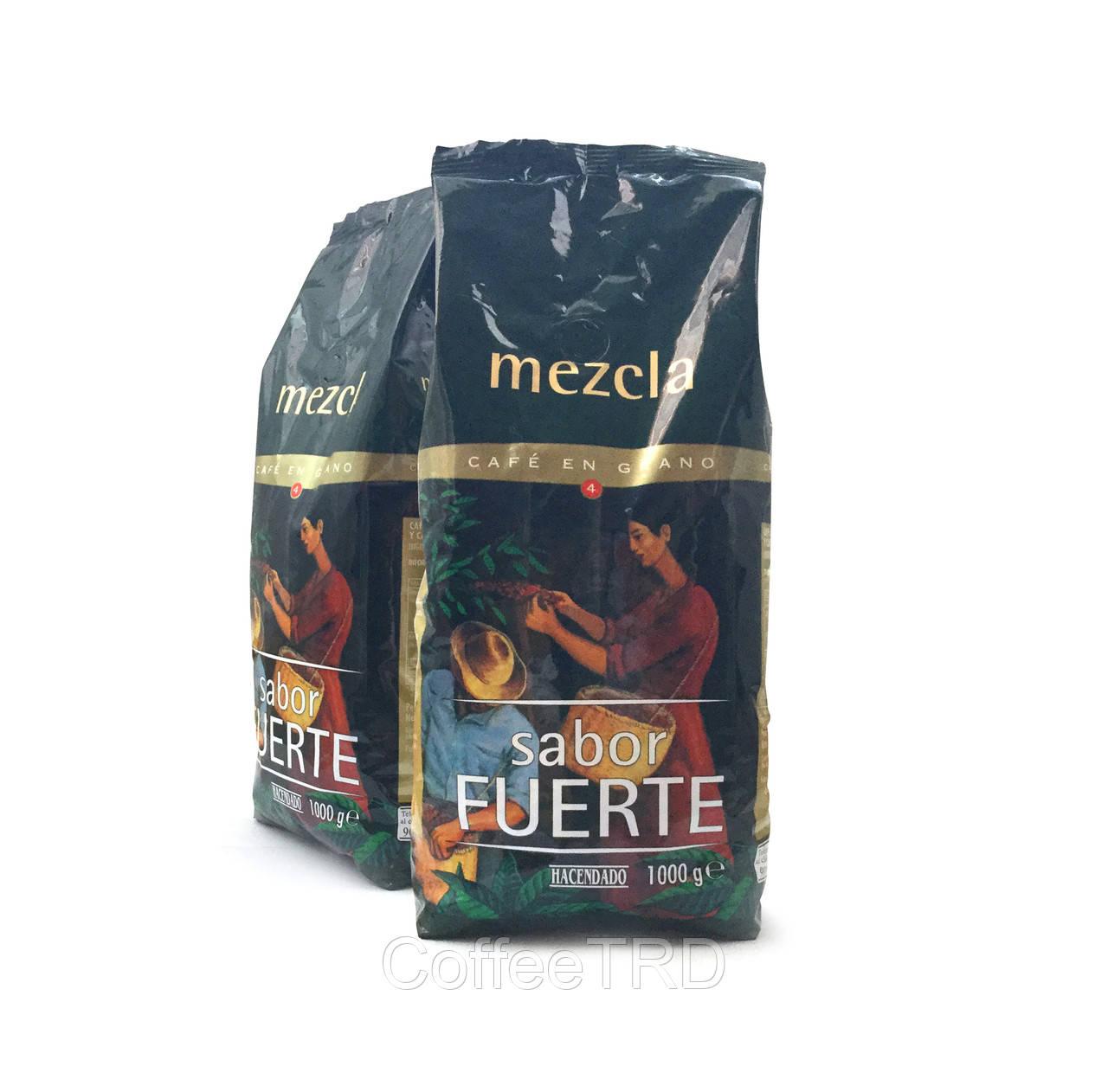 Hacendado №4 Mezcla Sabor Fuerte 1 кг зерно 50/50 - CoffeeTRD в Запорожье