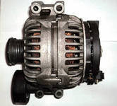 Генератор реставрированный на BMW 1-series E81, 3-series E90 2,0-3,0d 04- /150A /