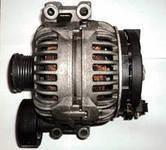 Генератор реставрированный на BMW 1-series E81, 3-series E90 2,0-3,0d 04- /150A / , фото 1